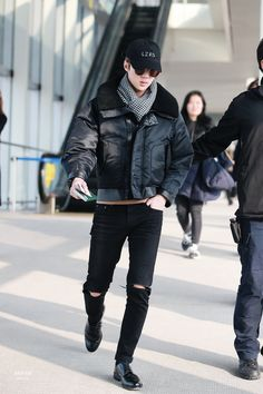 Sehun, this isn't a runway