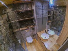 Душевая. Квартира-студия в стиле лофт.
