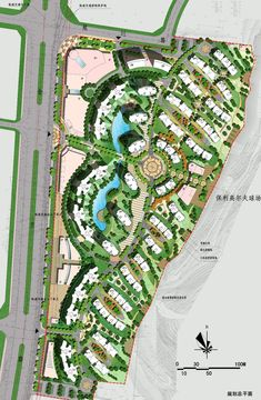 Pictures Of Landscaping – Using Other Peoples Ideas To Design Your Landscape Landscape Design Plans, Landscape Architecture Design, Green Architecture, Urban Design Concept, Urban Design Plan, Site Development Plan, Parque Linear, Resort Plan, Plan Maestro