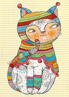 ilustración de Selda Marlin Soganci