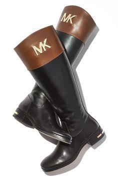 Classic riding boots by Michael Kors http://rstyle.me/n/mvsg2n2bn