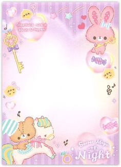 Memo pad small Q-Lia Secret Magic of Night Pink