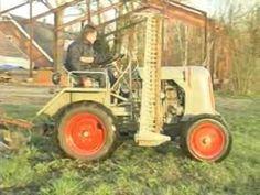 Deuliewag Schlepper Lawn Mower, Outdoor Power Equipment, Germany, Tractor, Lawn Edger, Grass Cutter, Deutsch, Garden Tools