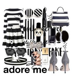 """""""adore me love"""" by newilliams-i ❤ liked on Polyvore featuring Boutique Moschino, Akris Punto, Dolce&Gabbana, Zimmermann, e.l.f., Harrods, Miss Selfridge, MAC Cosmetics, Prada and Yves Saint Laurent"""
