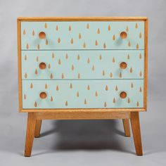 Rainy Day Chest of Drawers @ Howkapow