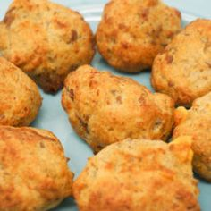 Fryer Sausage Balls are a perfect make-ahead breakfast that takes just a few minutes to cook in the Air Fryer. Mix up the Sausage Balls and store them uncooked in the freezer until you're ready to cook them. Pizza Ball, Make Ahead Breakfast, Sausage Breakfast, Breakfast Recipes, Blender Food Processor, Food Processor Recipes, How To Cook Hamburgers, Air Fryer Chicken Tenders, Air Fryer Recipes Easy