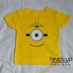 More adorable baby/kid shirts found at headsupdesigns on Etsy!