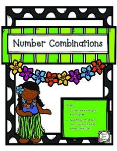 Number Combinations - Numbers to Ten    Use this product to reinforce numbers combinations to ten. Just like number bonds but using snap cubes. Imagine the scaffolding that you could use!     *****************************************************************************  More of Rachel's Resources    Addition - We LOVE Math - Computation Game.