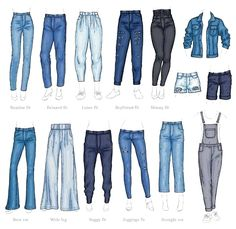 Vector denim female pants, shorts and jacket sketch icon set. Casual fashion tro… Vector denim female pants, shorts and jacket sketch icon set. Casual fashion tro…,Mappe Design Vector denim female pants, shorts and jacket. Fashion Design Drawings, Fashion Sketches, Dress Design Sketches, Fashion Design Sketchbook, Fashion Design Illustrations, Sketch Design, Mode Outfits, Fashion Outfits, Fashion Fashion