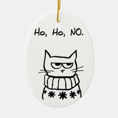 Funny Christmas Ornaments, Christmas Crafts For Gifts, Homemade Christmas Gifts, Christmas Cats, Christmas Humor, Christmas Sweaters, Christmas Feeling, Diy Christmas Stuff, Funny Christmas Decorations