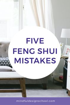"""As feng shui practitioners, we hear from a lot of people who are afraid of doing feng shui the """"wrong"""" way. If you've followed us for a while, you know that our goal isn't to make people fearful or tell you that you're doing something wrong. However, we do hae a few suggestions for things not to do when it comes to feng shui. #fengshui #homedesign School Design, Feng Shui, Mistakes, Something To Do, Goal, Things To Come, Told You So, Mindfulness, House Design"""