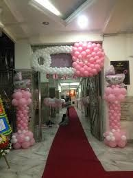 baby dedication balloon decoration ideas