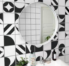 Makeover na cozinha, banheiro e lavabo: Adesivo para Azulejo, modelo PB!
