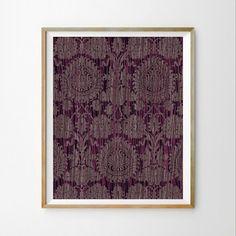Purple download Purple wall art decor Bedroom printable Abstract printable Living room wall art Purple modern wall art print Wall decor