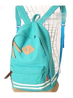 Sulida® Mujeres Pig Nose Lienzo Mochila Escolar Travel Bag Mochila Satchels