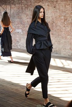 The Row Spring 2015 Ready-to-Wear Fashion Show - Anja Leuenberger