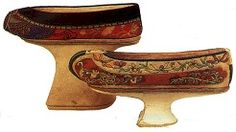 lotus shoes from china | These shoes were worn by the Manchu women in 19th century China. The ...