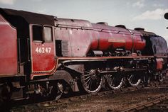 46247 'City of Liverpool' Coronation Class 4-6-2. Photo by Steven Toogood