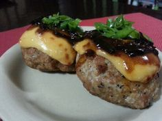 Take the boring ground pork into an easy to make and delicious Pork Burger Steak with Melted Cheddar Cheese