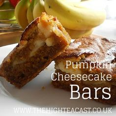 Whip up this twist on a traditional pumpkin cake for a halloween party - it's Pumpkin Cheesecake Bars!