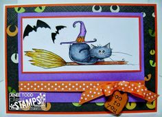 Sami Stamps: Challenge #006 and New Release: Halloween Kitties!