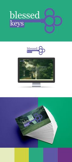 Website, logo, and business card design for West Haven based Christian book club and ministry, Blessed Keys. Better Than Yours, You Loose, Freelance Graphic Design, My Portfolio, Daily Devotional, Upcoming Events, My Job, Business Card Design, Ministry