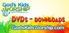 God's Kids Worship - USB Sticks, DVDs, and Downloads. The best in kids worship music.
