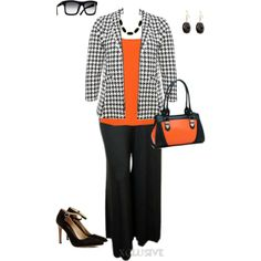 """plus size work outfit"" by penny-martin on Polyvore"