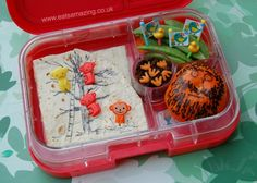 Eats Amazing UK - The Twits Book Themed Bento Lunch for Roald Dahl Day 2014