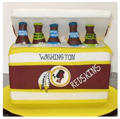 Redskins Cake Idea.