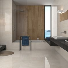 Sweet porcelain cream floor tiles are extra large cream floor tiles with a stylish marble effect design. These rectified tiles have a desirable high gloss finish and a PEI4 rating making them suitable for domestic or commercial environments.