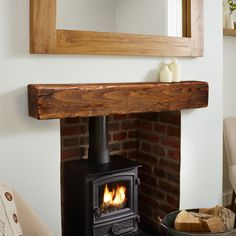 Do you love those cozy evenings in front of the fireplace? Our beautifully hand crafted mantles are the perfect addition to any space, big or small.
