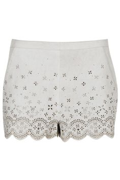 Topshop Suede Cut Out Shorts. This sold out before I had a chance to purchase it. Kate Bosworth looked incredible in the set.