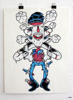 Niklas Coskans illustrations