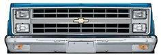Bumper conversion kit from LMC trucks  38-9905