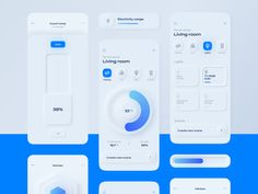 Every day most digital designers look for inspiration on sources like Dribbble or Behance for mobile and webdesign UI/UX works.In a large stream of the work Ui Design Mobile, App Ui Design, Mobile Ui, Interface Design, User Interface, Mobile Code, Design Design, Intranet Portal, Ui Design Inspiration
