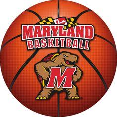 maryland terps basketball | Maryland Terrapins Basketball Logo Fathead Wall Graphics | Fatheads ...