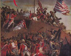 Taking of a British redoubt, Siege of Yorktown