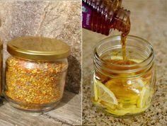 Voici la recette miracle pollen-miel-citron et ses effets incroyable