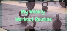 My Weekly Workout Routine Back at ya for my weekly workout routine edition 7.10.17! This is week one of my new training program for my upcoming fall half! I have a lofty goal!