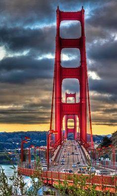 Golden Gate Bridge San Francisco California. Yes