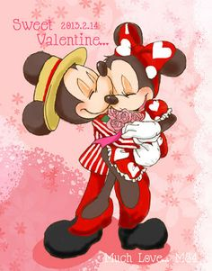 Mickey_e_Minnie__sweet_valentine_s_day_2013_by_hat_m84.jpg (313×400)