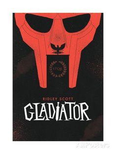 O Gladiador Impressão giclée