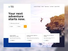 Travel Great work from a designer in the Dribbble community; your best resource to discover and connect with designers worldwide.List of footwear designers This is a list of notable dedicated footwear designers. Minimal Web Design, Web Ui Design, Responsive Web Design, Travel Website Design, Travel Design, Web Layout, Layout Design, Mise En Page Web, Photoshop