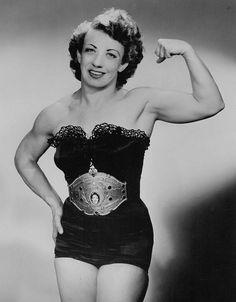"""Really """"Old School"""" female wrestler Mildred Burke"""