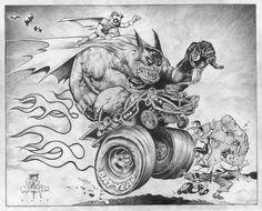 Big Wow auction Piece Batman by ~rattlesnapper on deviantART