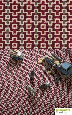 Margo Selby Quirky Shuttle Peter Woven Carpet