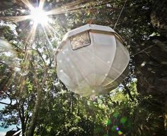 Cocoon Tree: A Lightweight, Spherical Treehouse for Sustainable Living | Inhabitat - Sustainable Design Innovation, Eco Architecture, Green Building