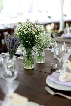 Table...get sheer purple overlay on white tablecloths