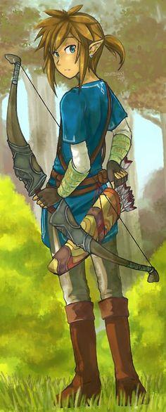Zelda U Link: